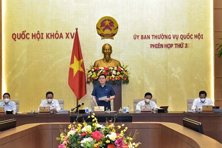 Khai mạc Phiên họp thứ Ba Ủy ban Thường vụ Quốc hội: Bảo đảm các nội dung trình Quốc hội đạt chất lượng cao