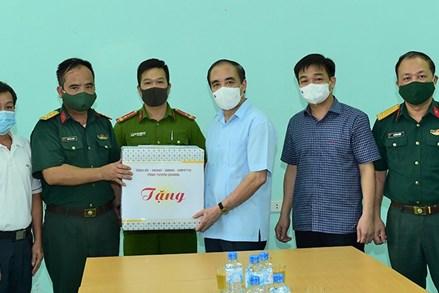 Uỷ ban MTTQ tỉnh Tuyên Quang tích cực tham gia phòng chống dịch Covid - 19