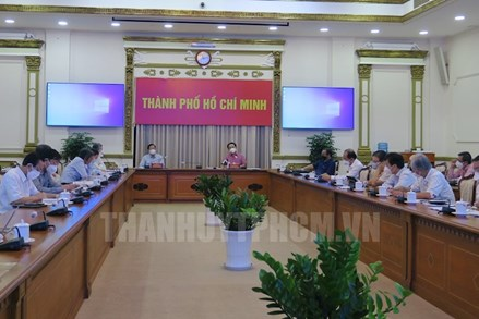 Thành phố Hồ Chí Minh: Chuẩn bị chiến lược để bước sang giai đoạn bình thường mới