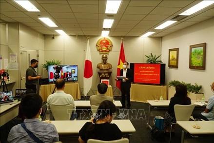 Tổng Lãnh sự quán Việt Nam tại Fukuoka quyên góp được hơn 1,58 tỷ đồng cho Quỹ Vaccine