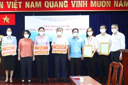 Thành phố Hồ Chí Minh: Hơn 2.096 tỷ đồng vật tư, phương tiện, trang thiết bị y tế ủng hộ công tác phòng, chống dịch
