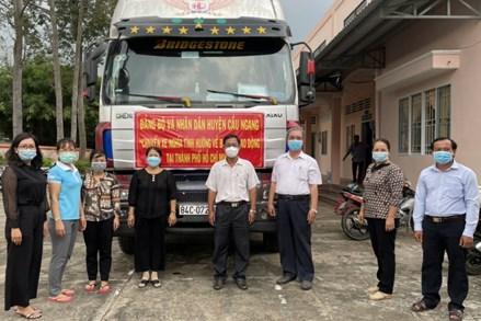Huyện Cầu Ngang: Phát huy vai trò của cộng đồng trong việc phòng, chống, kiểm soát, ngăn chặn dịch bệnh Covid-19