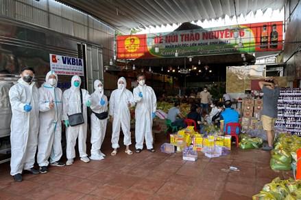 4.000 túi quà an sinh gửi tới người dân gặp khó khăn do dịch bệnh tại thành phố Hồ Chí Minh