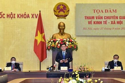 Chủ tịch Quốc hội Vương Đình Huệ: Chúng ta vẫn có những nền tảng tốt để sớm trở lại trạng thái trước đại dịch