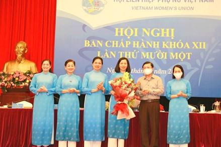 Kiện toàn chức danh Phó Chủ tịch Trung ương Hội LHPN Việt Nam