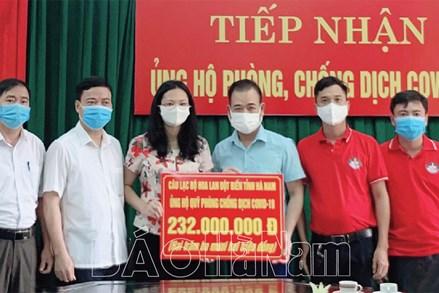 Hà Nam: MTTQ các cấp tích cực tham gia công tác phòng, chống dịch Covid -19