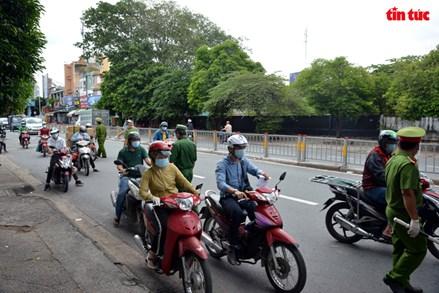 Tiếp tục kiểm soát người ra, vào TP Hồ Chí Minh và các tỉnh Bình Dương, Đồng Nai, Long An