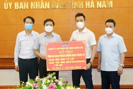Thêm nhiều trang thiết bị y tế và nguồn lực hỗ trợ Hà Nam phòng chống dịch
