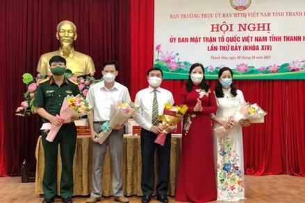 Ông Phạm Đăng Lực được hiệp thương cử làm Phó Chủ tịch Ủy ban MTTQ Việt Nam tỉnh Thanh Hóa