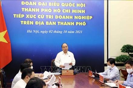 Chủ tịch nước chia sẻ về những đau thương, mất mát quá lớn với nhân dân TP HCM