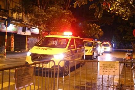 Hà Nội phát hiện thêm 17 ca nhiễm SARS-CoV-2, đều liên quan đến Bệnh viện Việt Đức