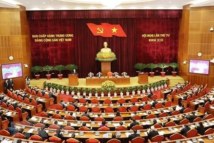 Hội nghị Trung ương 4 thảo luận về tăng cường xây dựng, chỉnh đốn Đảng