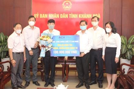 Khánh Hòa: Hơn 22 tỷ đồng ủng hộ công tác phòng, chống dịch Covid-19