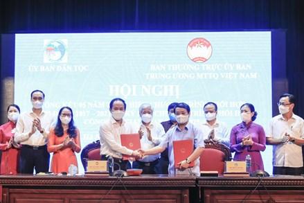 Đẩy mạnh công tác phối hợp giữa Ủy ban Trung ương MTTQ Việt Nam và Ủy ban Dân tộc