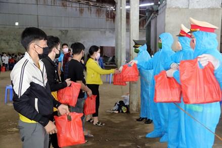 Sơn La hỗ trợ công nhân đi lao động tại các tỉnh phía Nam trở về ổn định cuộc sống