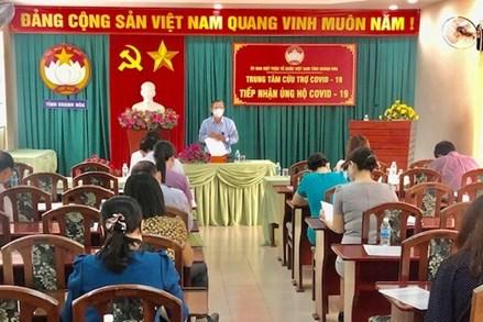 Khánh Hòa tiếp nhận trên 60 tỷ đồng và trên 500 tấn gạo và nhiều hàng hóa vật tư y tế