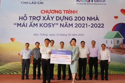 Mặt trận Lào Cai phối hợp xây dựng 200 căn nhà đại đoàn kết cho hộ nghèo