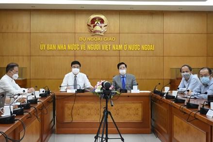 """Tọa đàm trực tuyến: """"Doanh nhân kiều bào với mạng lưới tiêu thụ hàng hóa Việt Nam ở nước ngoài"""""""