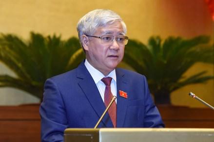 Đoàn Chủ tịch UBTƯ MTTQ Việt Nam gửi 5 ý kiến, kiến nghị của cử tri và Nhân dân cả nước tới Quốc hội