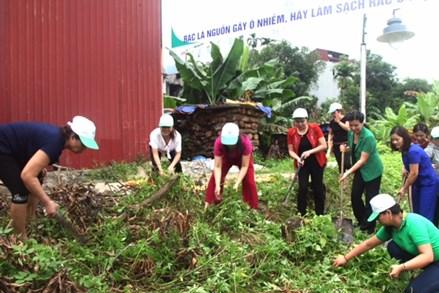 Vai trò của Hội LHPN Việt Nam trong công tác bảo vệ môi trường