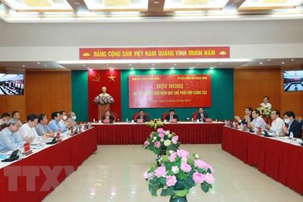 Nâng cao hiệu quả phối hợp giữa Ban Nội chính Trung ương và Ủy ban Kiểm tra Trung ương