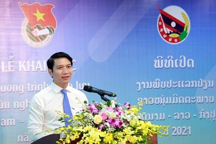 Thúc đẩy tình đoàn kết, hữu nghị thanh niên Việt Nam - Lào - Campuchia