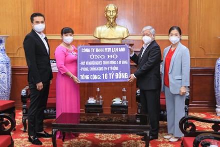 Phân bổ 20,619 tỷ đồng hỗ trợ tỉnh Phú Thọ, Quảng Nam, Yên Bái và thành phố Hà Nội phòng chống dịch