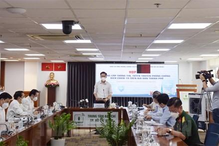 4 kịch bản ứng phó với dịch bệnh COVID-19 trên địa bàn TP Hồ Chí Minh