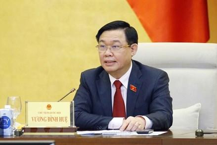 Chủ tịch Quốc hội chủ trì họp đánh giá 6 ngày đầu tiên của kỳ họp