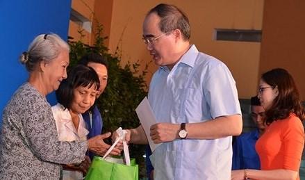 Tưng bừng Ngày hội Đại đoàn kết ở khu dân cư tại TP. Hồ Chí Minh