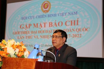 Chuẩn bị Đại hội đại biểu toàn quốc Hội Cựu chiến binh Việt Nam lần thứ VI