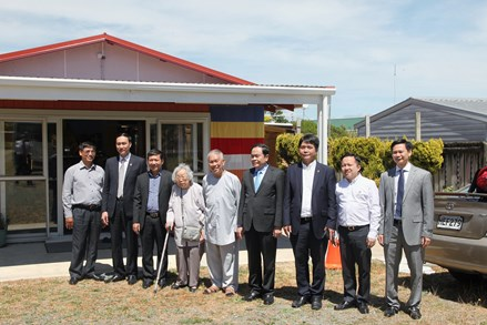 Chủ tịch Trần Thanh Mẫn bắt đầu thăm hữu nghị New Zealand