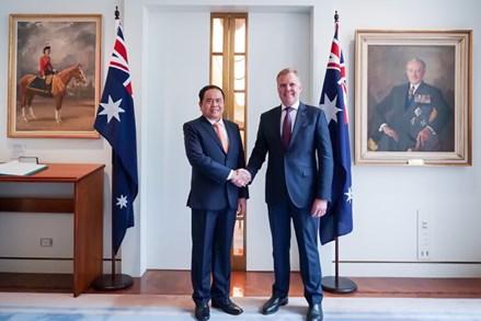 Vun đắp quan hệ Việt Nam - Australia vì lợi ích của nhân dân 2 nước