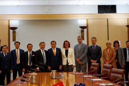 Chủ tịch Trần Thanh Mẫn đề xuất nhiều nội dung hợp tác quan trọng giữa Australia và Việt Nam