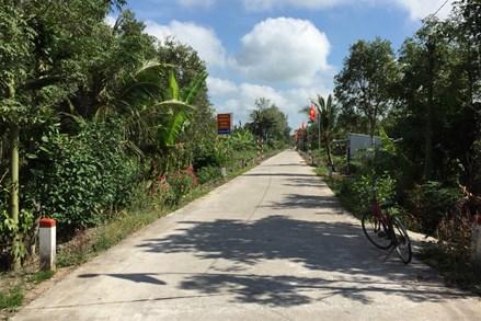 """Mô hình """"Tuyến đường xanh - sạch - đẹp"""" tại tỉnh Kiên Giang"""