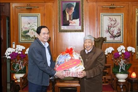 Chủ tịch Trần Thanh Mẫn chúc Tết nguyên lãnh đạo Đảng, Nhà nước, MTTQ Việt Nam
