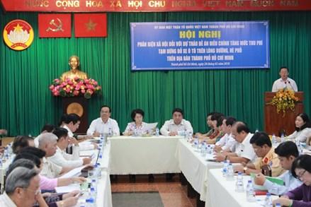 Đồng tình với chủ trương tăng phí tạm dừng, đỗ xe ôtô tại TP. Hồ Chí Minh