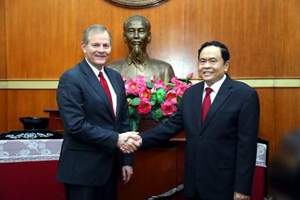 Chủ tịch Trần Thanh Mẫn tiếp đoàn Giáo hội các Thánh hữu Ngày sau của Chúa Giêsu Kitô
