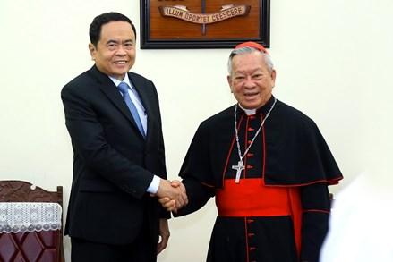 Chủ tịch Trần Thanh Mẫn chúc mừng lễ Phục sinh năm 2018