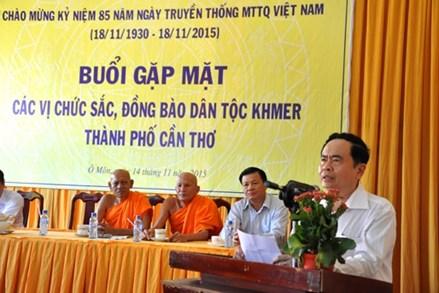 Thư chúc mừng Tết cổ truyền Chol Chnam Thmay của đồng bào Khmer