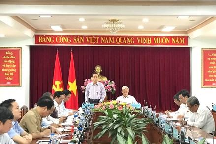 Đoàn Chủ tịch Ủy ban Trung ương Mặt trận Tổ quốc Việt Nam làm việc với lãnh đạo tỉnh Đồng Nai