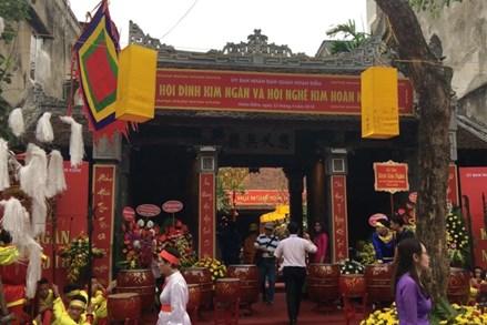 Khai mạc Lễ hội đình Kim Ngân và Hội nghề kim hoàn năm 2018