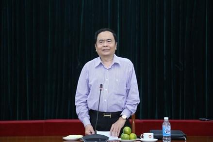 Gặp mặt các đồng chí nguyên lãnh đạo MTTQ Việt Nam qua các thời kỳ