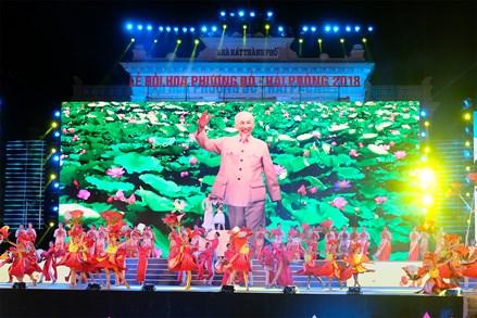 Chủ tịch Trần Thanh Mẫn dự khai mạc Lễ hội Hoa Phượng đỏ - Hải Phòng 2018