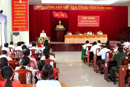 Chủ tịch Trần Thanh Mẫn tiếp xúc cử tri sau kỳ họp thứ 5, Quốc hội khoá XIV