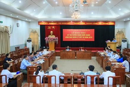 Ủy ban Trung ương MTTQ Việt Nam tổ chức thi tuyển lãnh đạo quản lý cấp Vụ