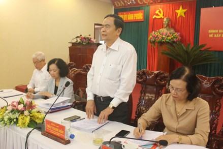 Quá trình phát triển của đất nước có sự đóng góp của người dân thông qua quy chế dân chủ