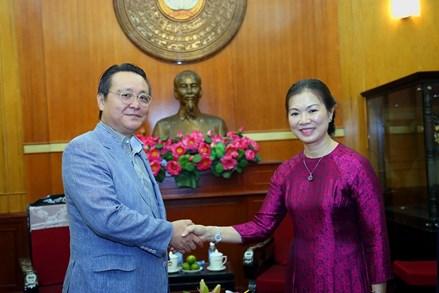 Vun đắp tình hữu nghị Việt - Hàn