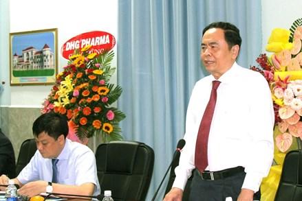 Chủ tịch Trần Thanh Mẫn: Đào tạo phải theo địa chỉ, gắn với nhu cầu của thị trường