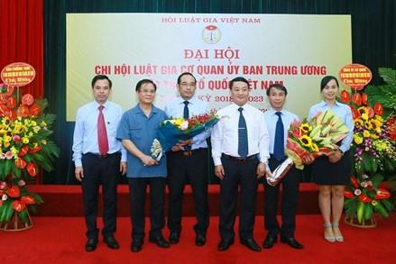 Chi hội Luật gia đóng góp tích cực vào công tác Mặt trận